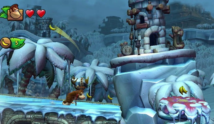 Donkey Kong Country: Tropical Freeze swings into UK charts at 9