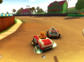 Rejoice! Garfield Kart is coming to 3DS