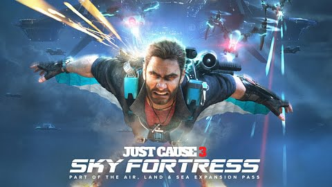 Just Cause 3 Sky Fortess