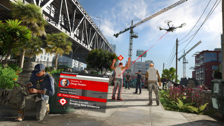 Watch_Dogs 2 planting evidence