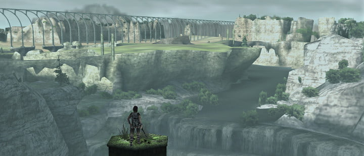 Shadow of the Colossus viaduct