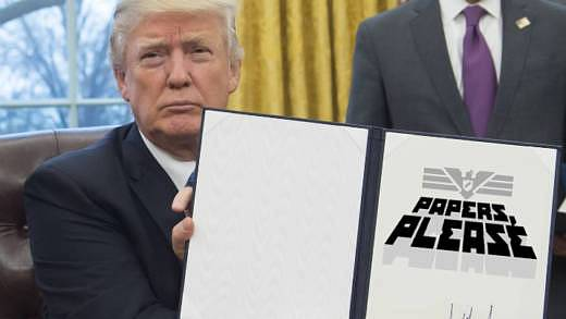 Donald Trump executive order Papers Please
