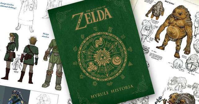 Hyrule Historia Cover