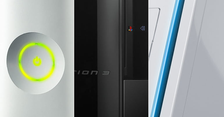 Xbox 360, PS3, Wii