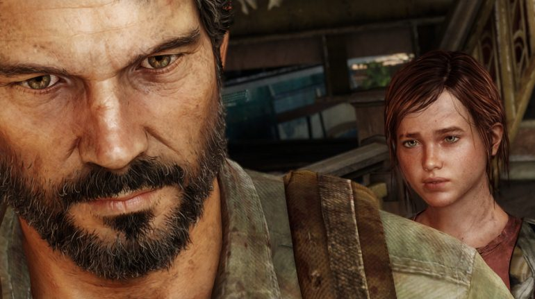Joel and Eliie - The Last of Us