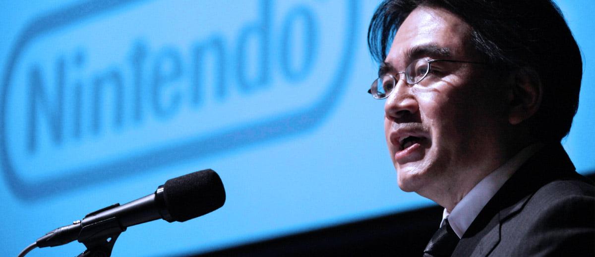 Nintendo's Satoru Iwata