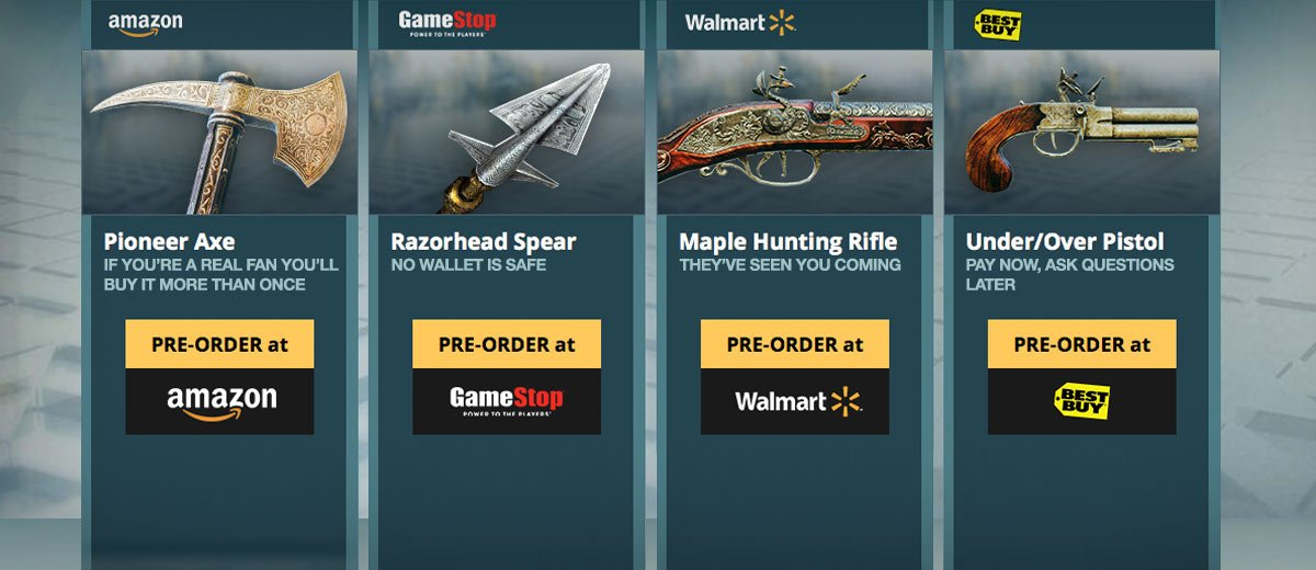 Assassin's Creed Unity PreOrder