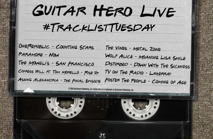 Guitar Hero live Tracklist Tuesday