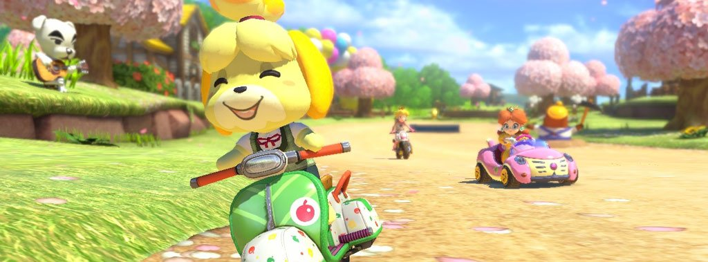 Mario Kart 8 Animal Crossing