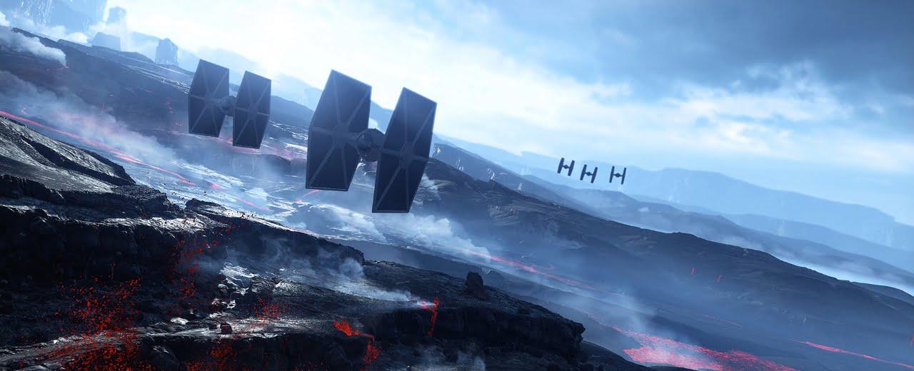 Star Wars Battlefront Sullust Art