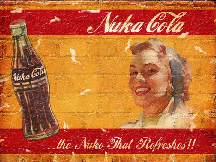 Nuka Cola sign - Fallout 4 announced!