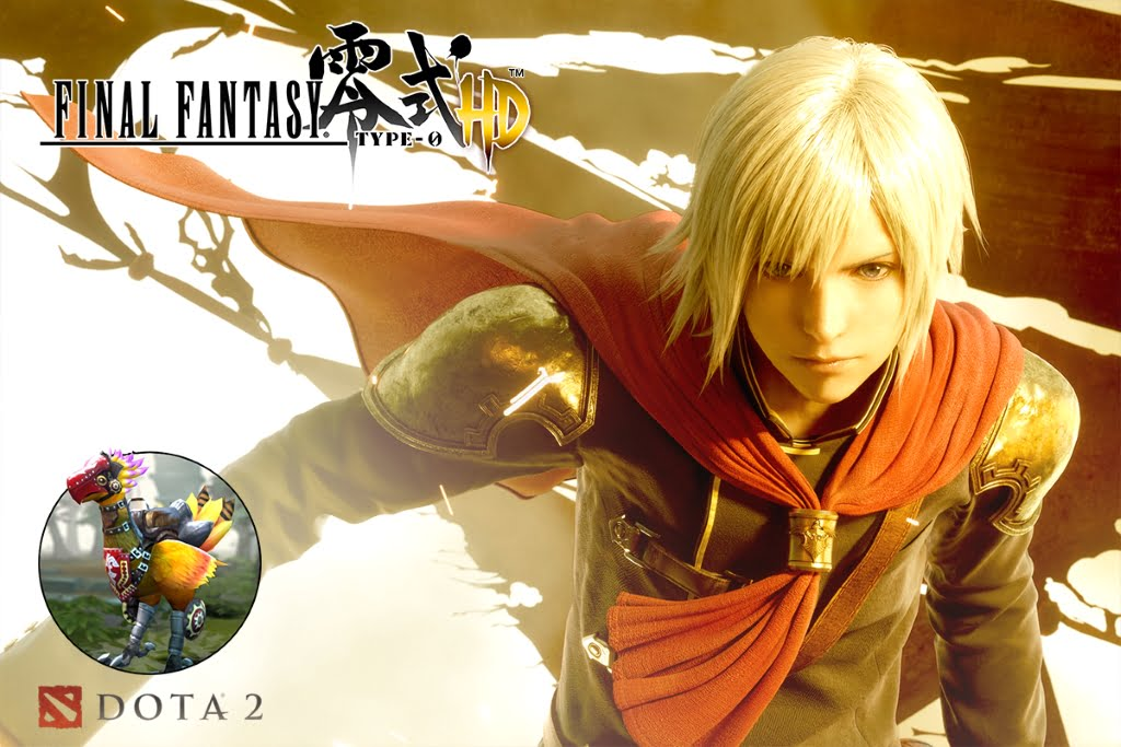Final Fantasy Type-0 HD PC with DOTA 2 characters