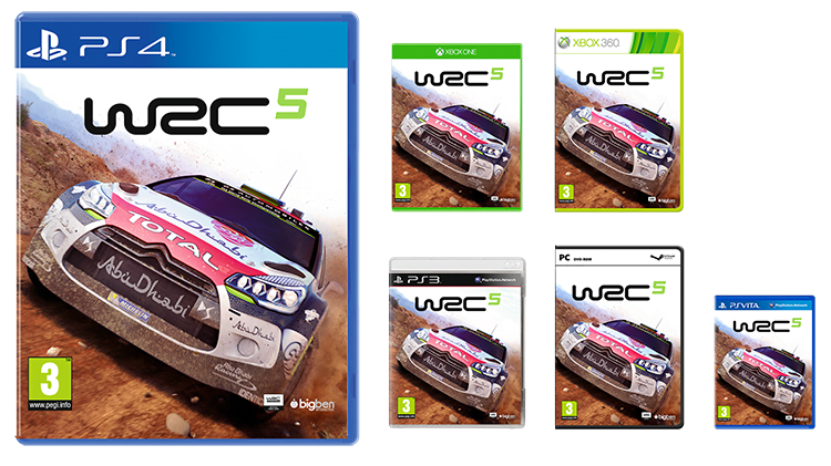WRC5 UK pack shot