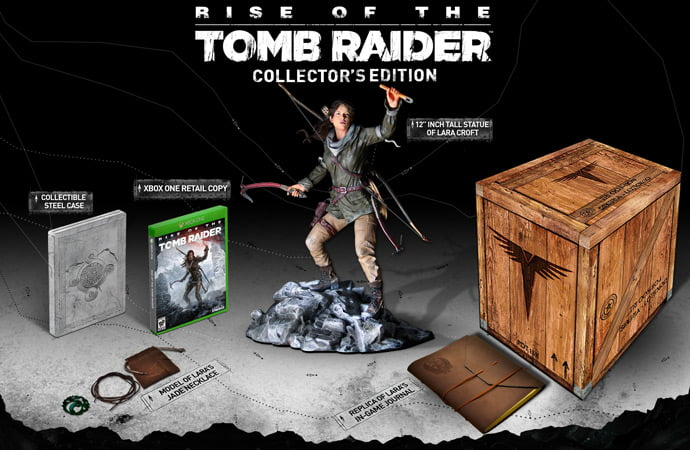 Rise of the Tomb Raider - Collector Edition