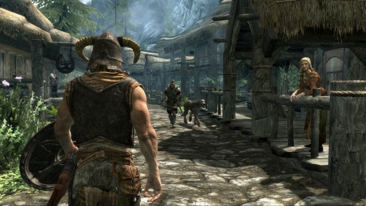 Open world games - Skyrim