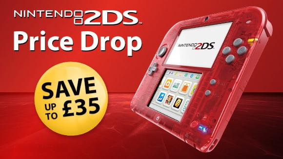 Nintendo 2DS Price Drop