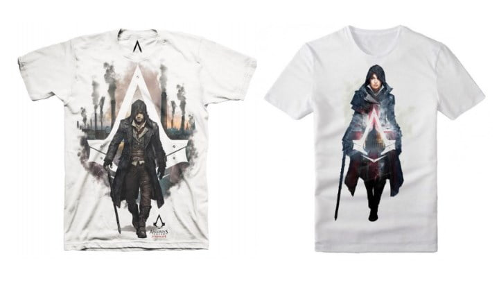 Official Assassin's Creed Syndicate t-shirts
