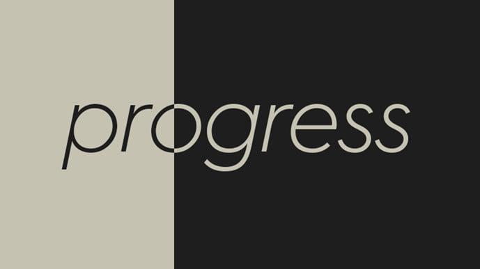 Progress to 100