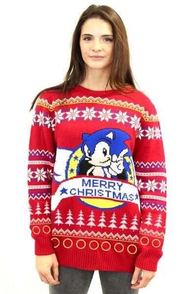 Hedgehog Christmas Jumper.The Best Gaming Christmas Jumpers Thumbsticks