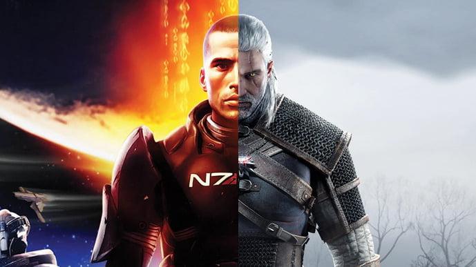 Mass Effect Witcher 3