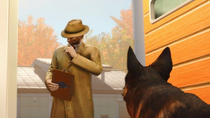 Play Fallout 4 as Dogmeat mod