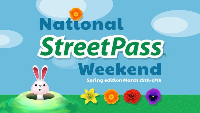 National Streetpass Weekend 3DS