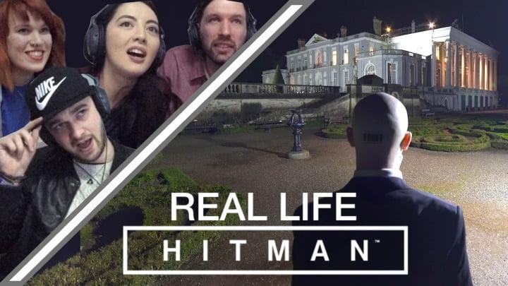 real life Hitman game