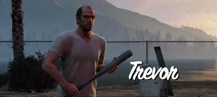 GTA V's Trevor in The Walking Dead - Steven Ogg