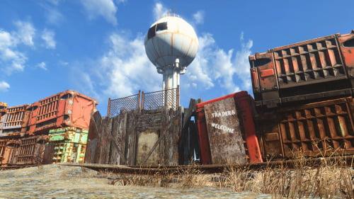 Fallout 4 Cascadia mod Seattle