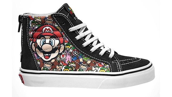 Vans Nintendo trainers - Mario high-tops
