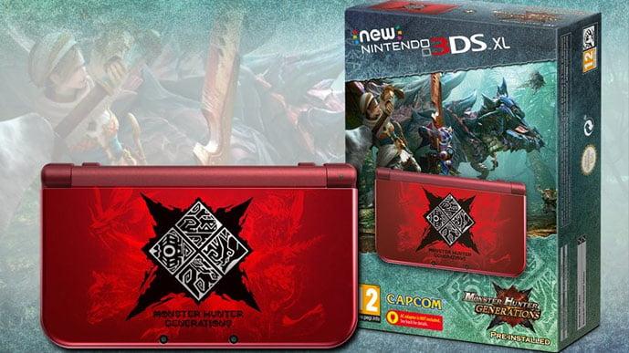 Monster Hunter Genearations New 3DS XL