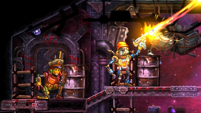Steamworld Heist - PS4 and PSVita