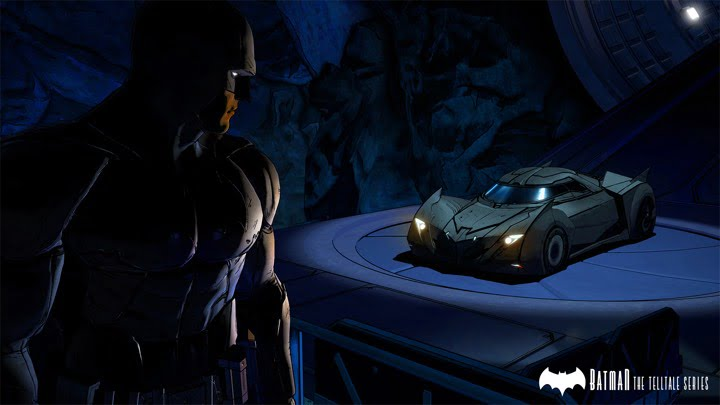 Batman - The Telltale Series - Batmobile