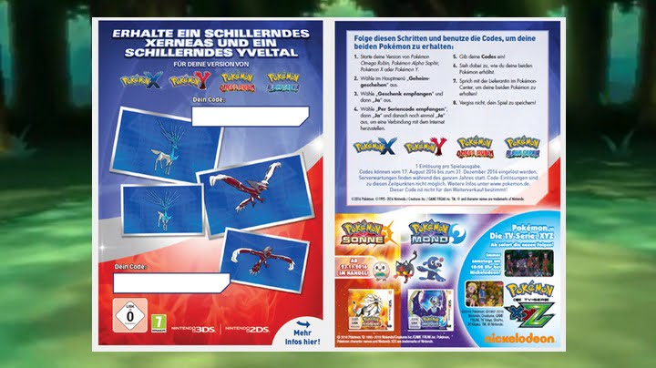 How to redeem your Gamescom Shiny Pokémon code - Thumbsticks
