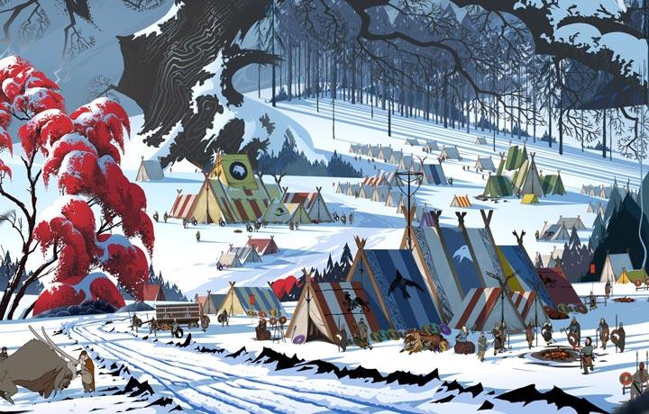 The Banner Saga 2 - Camp