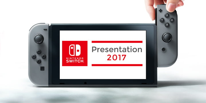 Nintendo Switch - Nintendo Direct 13 January 2017