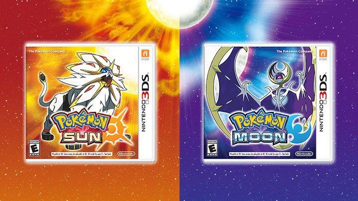 Pokémon Sun and Moon - box art