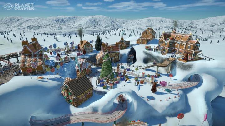 Planet Coaster Winter Update
