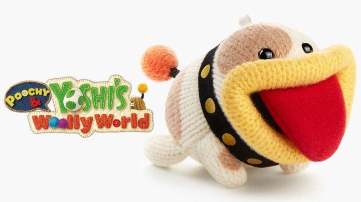 Poochy & Yoshi's Woolly World - Amiibo
