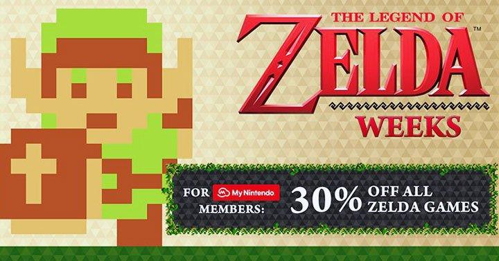 The Legend of Zelda Weeks Sale