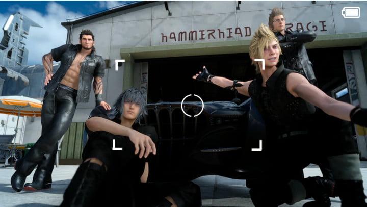 Final Fantasy XV photo mode