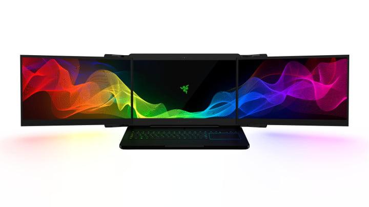 Razer triple screen laptop