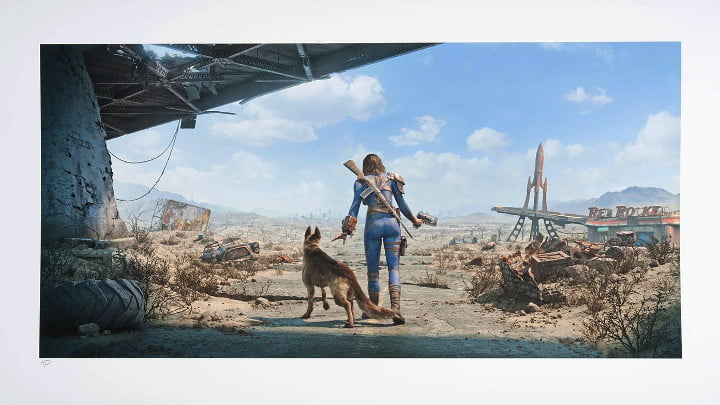 Fallout 4 art print neighbourhood patrol