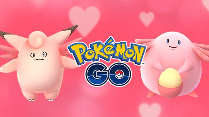 Pokémon Go - Valentine's Day event