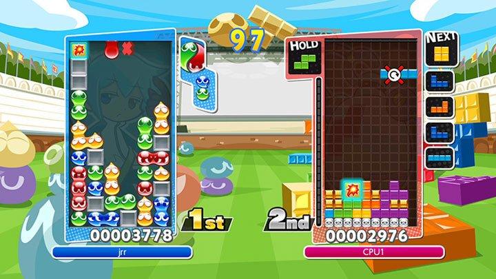 Puyo Puyo Tetris - PS4 and Switch