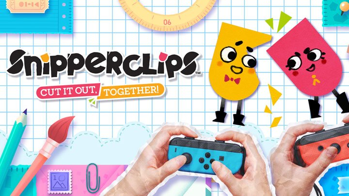 Snipperclips - Nintendo Switch