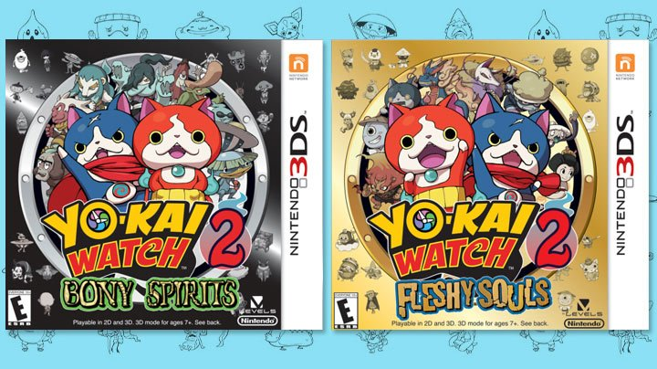 Yo-kai Watch 2 release date confirmed - Thumbsticks 1445ca717f