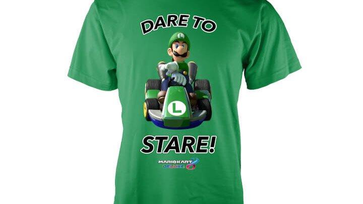 Mario Kart 8 Deluxe - Luigi Stare T-Shirt