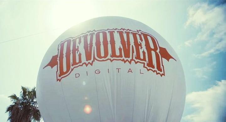 Devolver Digital - E3 Balloon