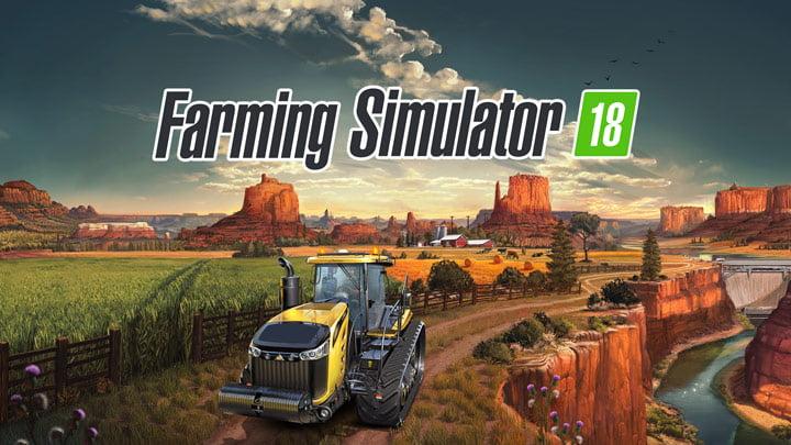 Farming Simulator 18 - PS Vita and 3DS